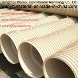 Pipe en plastique - pipe de PVC avec la qualité dans la vente