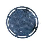 botola resistente del ferro del quadrato della fogna della resina del polimero di 600X600 A15/B125/C250/D400
