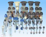 Compteur de débit en plastique de tube Romamter pour la mesure de l'eau