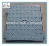 建物の使用のための正方形の鋳鉄B125のマンホールカバー
