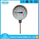 alta qualità di 100mm tutto il calibro di temperatura dell'acciaio inossidabile