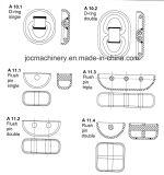 Gelijke Geselende Punten voor de Apparatuur van de Montage van de Container