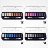9 het Palet Kosmetische Vastgestelde Es0322 van de Oogschaduw van de Steen van de Flikkering van de Make-up van de Oogschaduw van de kleur