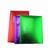 Sobre metálico colorido de la burbuja del metal