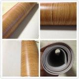Étage 2mm de vinyle de plancher de vinyle de regard tissé par bois