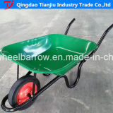 Wheelbarrow galvanizado 65L Wb4024A do jardim do mercado de Europa