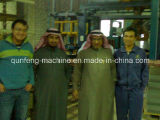 Línea de la máquina del bloque de cemento de la espuma/cadena de producción automática de Rully