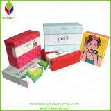 Роскошная косметическая бумажная коробка упаковки