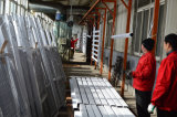 Ventana de desplazamiento de aluminio a estrenar de China
