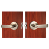 WohnEntrance Door Lever Set in Satin Nickel
