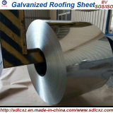 A placa de aço nos produtos de aço da bobina/material de construção galvanizou a bobina de aço 0.125mm