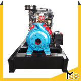 Pompe aspirante diesel centrifuge horizontale de fin de l'eau