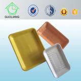 Kundenspezifischer Plastik-pp. Tellersegment-Behälter der neuen Fleischverpackung-mit saugfähiger Auflage