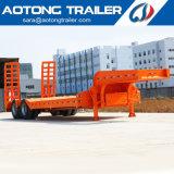 반 Mombasa 포트 2-4 차축 40-80ton 낮은 침대 트랙터 트레일러