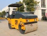 Rolo de estrada Vibratory hidráulico cheio Yzc4.5h de 4.5 toneladas mini