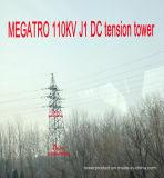 Torretta di tensionamento di CC di Megatro 110kv J1