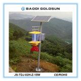 Lampada solare intelligente dell'assassino del parassita in frutteto, giardino, serra