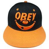 Gorra de béisbol de encargo del Snapback con la insignia colorida Gjfp17152