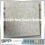 Плитка пола желтого гранита желтого цвета пустыни G682n естественная каменная