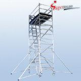 L1.25 x W2.5 시리즈 알루미늄 비계 탑