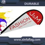 Publicidad personalizada Flying Flag Beach, mástil de bandera