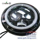 Halo RingのIP67 7inchのクリー語LED Headlamp Kits (Jeepのラングラーのために)