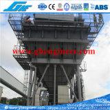 auf Schienen beweglicher staubdichter Portzufuhrbehälter 200cbm