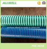 """Пластичной шланг всасывания PVC усиленный спиралью на шланг 2 воды отводного штуцера полива """""""