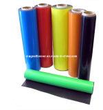 Imanes flexibles de goma rodillo y superficie del papel del lanzamiento o del PVC
