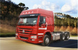 De Vrachtwagen van de Tractor HOWO van nr 1 6*4