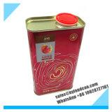 1liter vacian el aceite de cocina de empaquetado de Can_Box_for del estaño