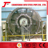 Máquina soldada del tubo para el diámetro de 40 a de 152m m