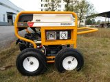 RCDおよび4つのXの空気の大きい車輪(GP8000SE)が付いている携帯用力ガソリン発電機7500ワットの