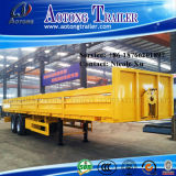 3 eixos 45-60 do leito Semi toneladas de reboque do caminhão (LAT9390P)