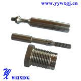 Клапан специального винта для дерева штанги резъбы тела клапана Strainless стальной трехкорпусный