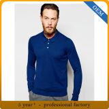 Longues chemises de polo de chemise de Mens fait sur commande de qualité