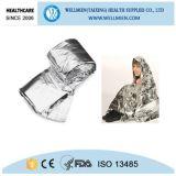 マイラーの緊急の上昇温暖気流のキャンプ毛布