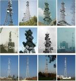 電話マイクロウェーブシグナルのテレコミュニケーションの鋼鉄タワー