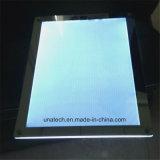 De LEIDENE Binnen Adverterende Magische Spiegel Lightbox van Vertoningen