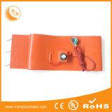 20-60 calefator de faixa da borracha do silicone do cilindro de aço do galão