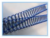 Fil obligatoire spiralé en acier en nylon