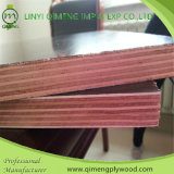 Linyi Qimeng Factory Exporting 브라운과 Construction를 위한 Black Film Faced 12mm 15mm 18mm Shuttering Plywood
