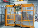 Élévateur de construction d'ODM Sc200/200 avec trois portes Saled chaud aux EAU