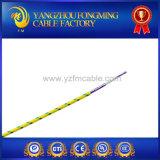 Câble électrique de fil de Mgt de température élevée de tresse de fibre de verre de bande du mica UL5107