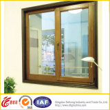 木のColor UPVC/PVC Profile WindowかSliding/Plastic Window