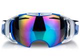 Grande espelho espelhado Óculos de segurança óculos para esqui