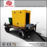 De Diesel van de aanhangwagen Pomp van het Water voor Irrigatie 16inch