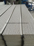 Los paneles grabados alta calidad del metal para el chalet de la estructura de acero