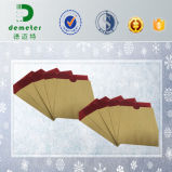 ワックスの上塗を施してあるAppleの顧客用防水生物分解性の成長する保護紙袋