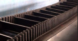 Anti-Skidding Conveyor Belt con Sidewall e Cleat per Inclined e Vertical Conveying Work